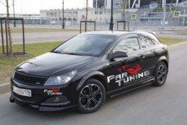 Обвес Rieger на Opel Astra h GTC