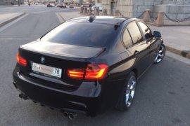 Раздвоенный глушитель для BMW 3 F30